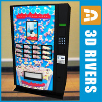 Ice cream vending machine by 3DRivers