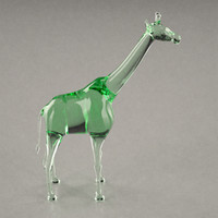 glass giraffe