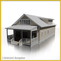 house bungalow 3d model