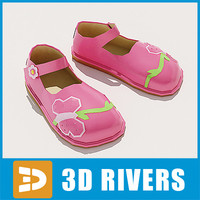 kids shoes 3d 3ds
