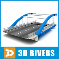 Modern bridge by 3DRivers