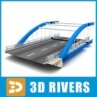 maya modern bridge