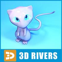 3d japanese pokemon model