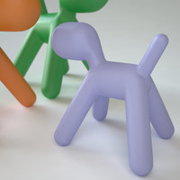 plastic chair magis puppy max