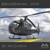 SA 342 Gazelle Gamma