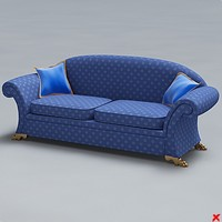 3d 3ds sofa seating