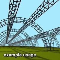 3d max generic scaffolding
