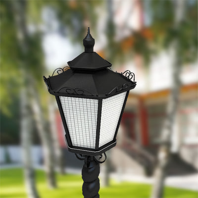 3d streetlight street lamp model - Street lamp	by 3DRivers... by 3DRivers