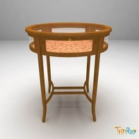 decorative table oval max