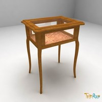 3dsmax decorative table