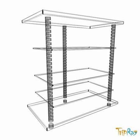 3d model table tv table -> Modèle Table Tv