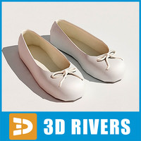 Ballet flats by 3DRivers