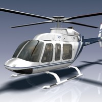 407 helicopter 3d max