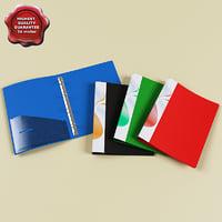 folders v2 3d model
