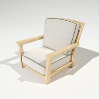 Mandalay Chair Model