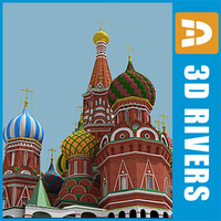 Saint Basils Cathedral by 3DRivers