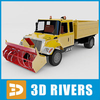 Snow removal machine 04 by 3DRivers