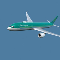 a350-900 aer lingus 3d model