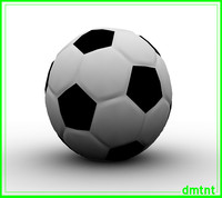 3d model of soccer
