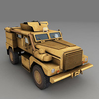 cougar mines ieds 3d model