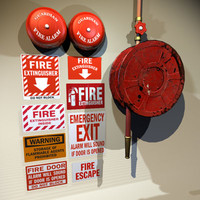 Fire Hose and Alarm Bells 01