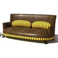sofa hambo 3d model
