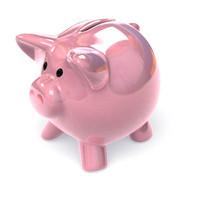 lwo pig piggybank bank