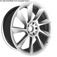 Bare Rims Tesla Model S - subpatch