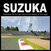 suzuka race track 3d model