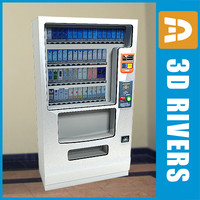 Tobacco vending machine 02 by 3DRivers