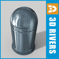 Trash can 08 by 3DRivers