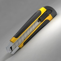 cutter cut 3d model