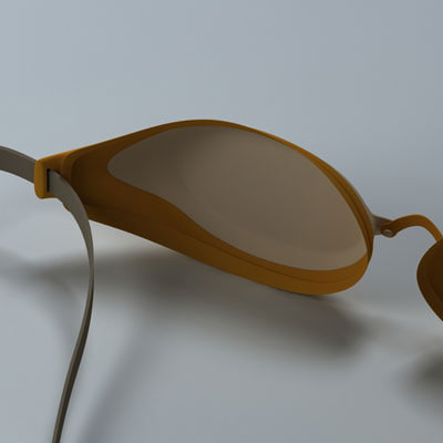 speedo goggle 3d model - Speedo Goggle... by BARAKA