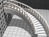 3d stair model