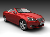 converts is250c coupe 3d model