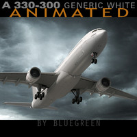 Airbus A330-300 Generic White A