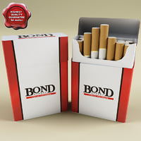 Bond cigarettes