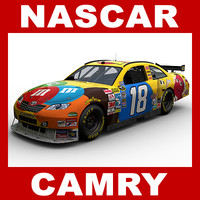 car nascar camry 3d model