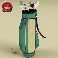 3ds max golf set