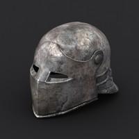 Medieval helmet #01