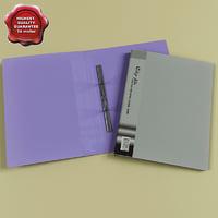 3d paper folders