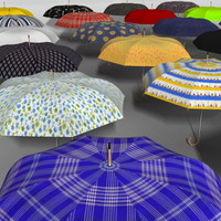 umbrella animation 3d max