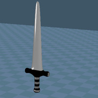 broad sword 3d model