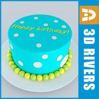 cake bake 3dr114 3d model