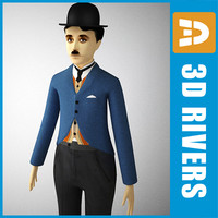Charlie Chaplin by 3DRivers