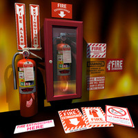 Fire Extinguisher cabinet 01