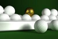 3ds max golf balls