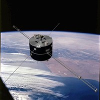 US NASA Geotail Satellite