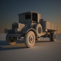 old truck 3d max