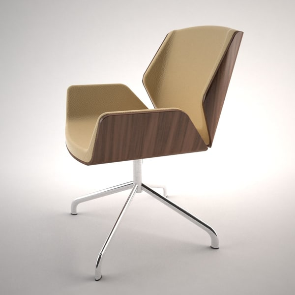 3ds max office architectural - Destrezza Chair... by Ninth Giant Productions